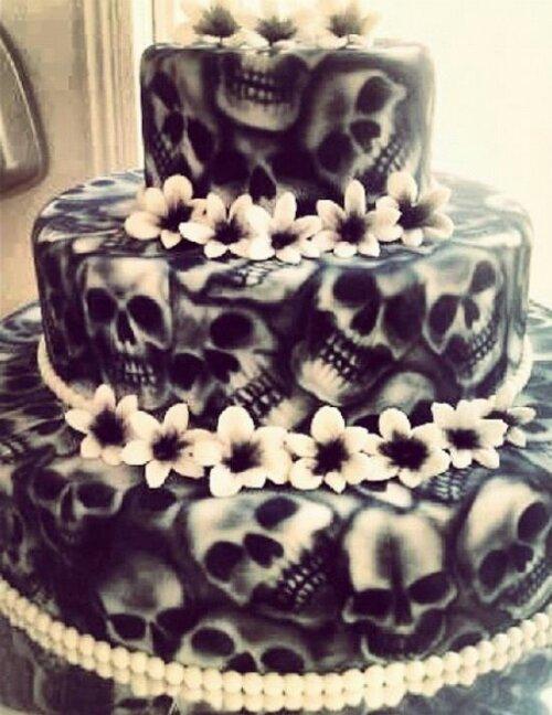 skull all cake ideas - photo #17