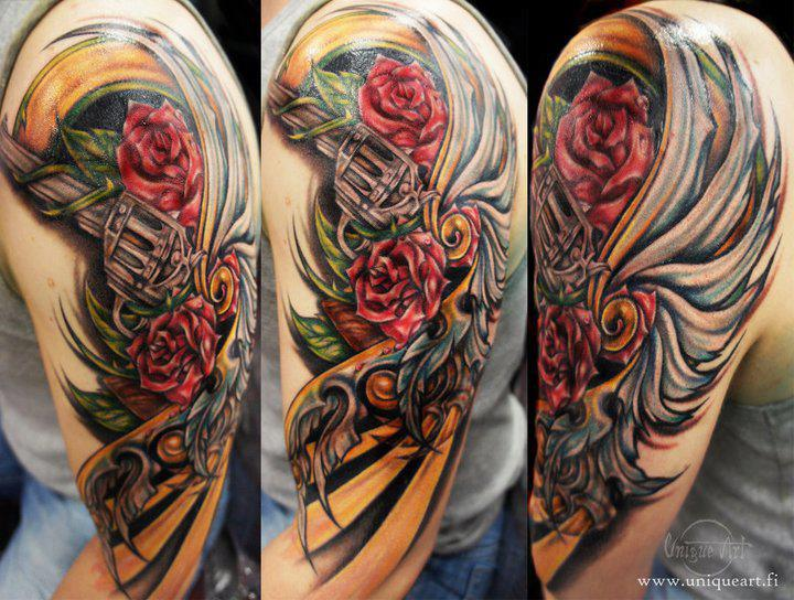 Gun roses tattoo leilaworldblog for Guns n roses tattoos