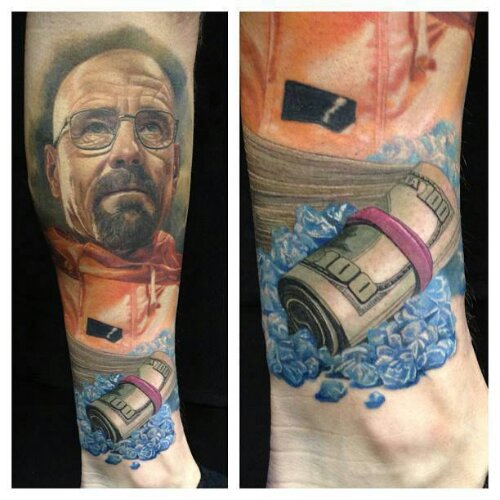 breaking bad tattoo leilaworldblog